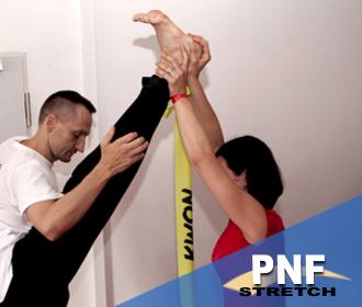 Functionelles Dehnen mit PNF