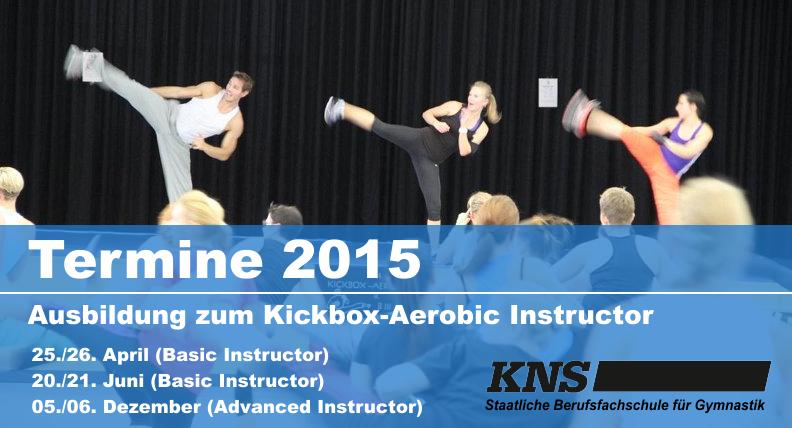 Termine Kickboxaerobic 2015